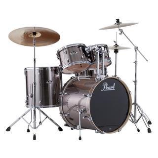 Pearl Export 5-piece Smokey Chrome Drum Kit