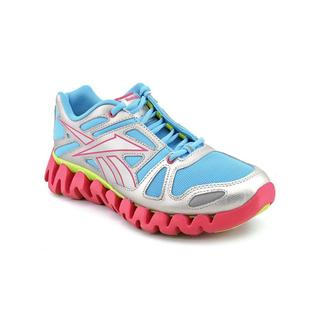 Reebok Girl (Youth) 'ZigDynamic' Synthetic Athletic Shoe (Size 7 )