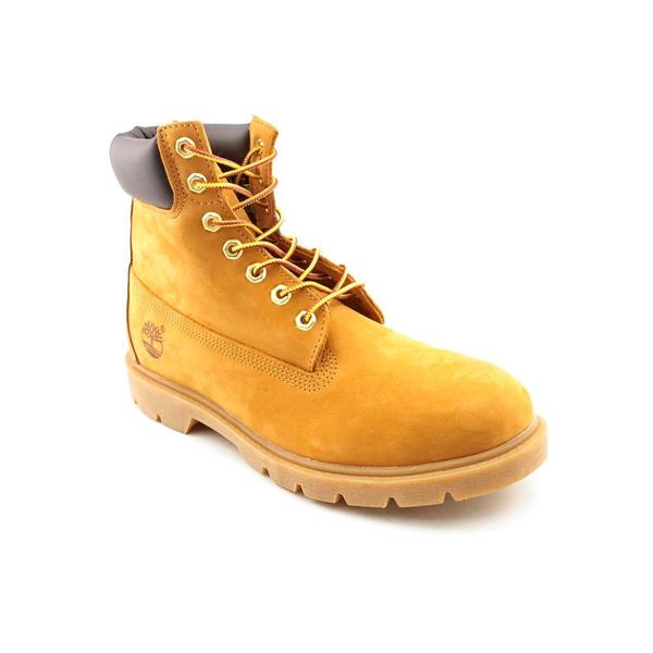"Timberland Men's '6"" Basic' Leather Boots (Size 10 )"