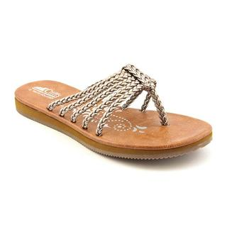 White Mountain Women's 'Lass' Man-Made Sandals (Size 10 )