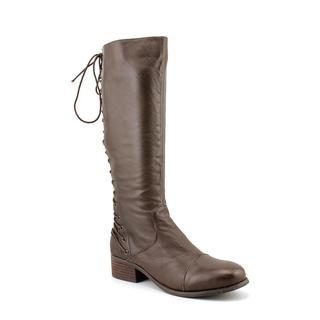 Two Lips Women's 'Lockdown' Leather Boots (Size 9.5 )