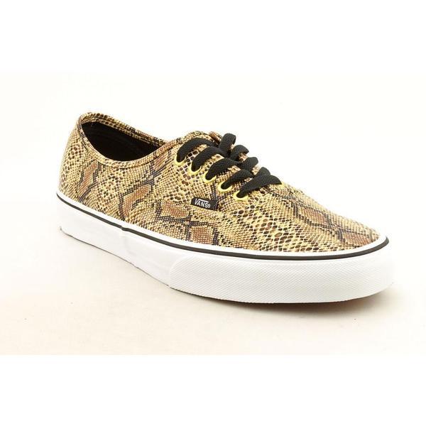 Vans Men's 'Authentic' Basic Textile Athletic Shoe (Size 11 )