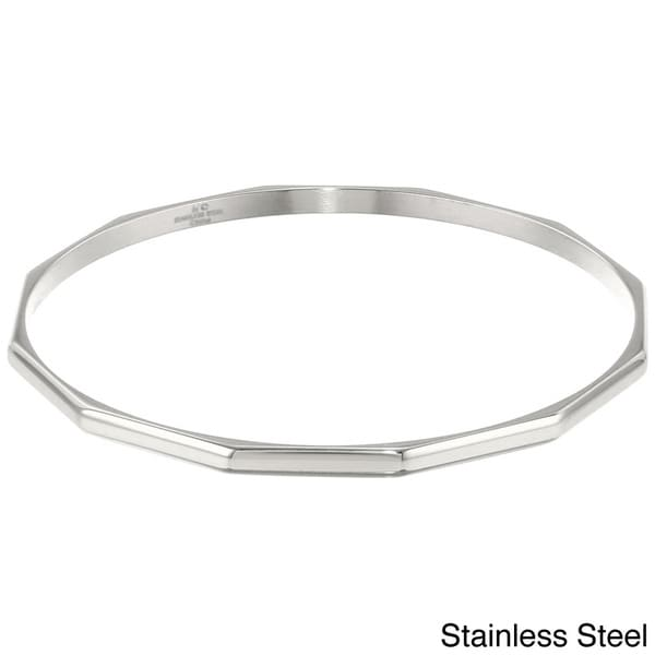Ionplated Stainless Steel Bangle 12694947