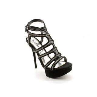 Bebe Women's 'Latasha' Hair Calf Sandals (Size 8 )