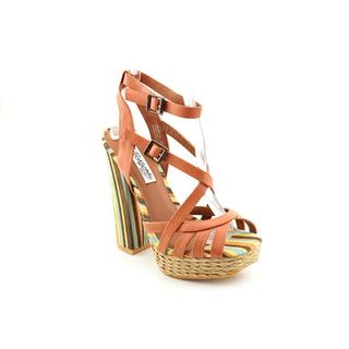 Naughty Monkey Women's 'Aztec' Leather Sandals