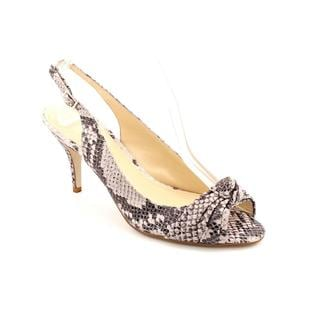 Enzo Angiolini Women's 'Rebec' Animal Print Sandals