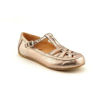 Lil Miz Girl (Youth) 'Darla' Leather Casual Shoes