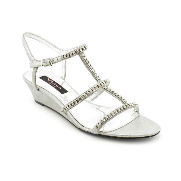 Nina Women's 'Fresno' Fabric Sandals (Size 8.5 )