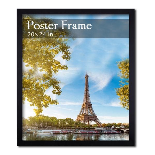 Black Poster/ Picture Frame (20u0026quot; x 24u0026quot;) - 16136987 - Overstock.com ...