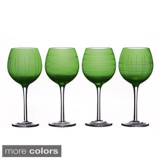 Medallion Goblet Set (Set of 4)