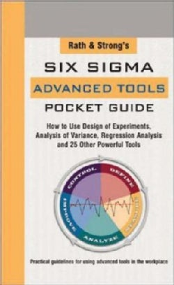 Rath & Strong's Six Sigma Advanced Tools Pocket Guide (Paperback)