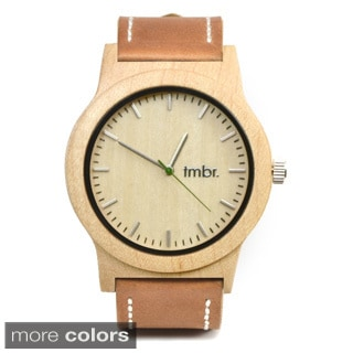 Tmbr 'Knotty Wood' Maple Chronograph Watch