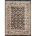 Medallion Navy Area Rug (5'6 x 7'5)