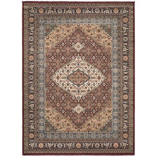 Medallion Beige Area Rug (5'6 x 7'6)