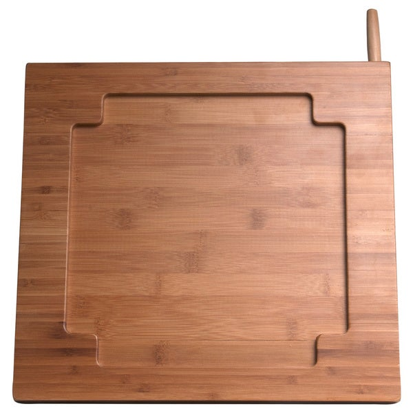 Bamboo Knife Stand for iPad