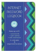 Internet Password Logbook - Pattern: Keep Track Of: Usernames, Passwords, Web Addresses in One Easy & Organize... (Address book)