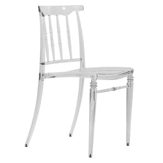 Norco Clear Transparent Polycarbonate Dining Chair