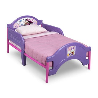 Minnie Mouse Purple Toddler Bed