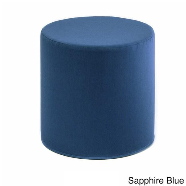 Sunbrella Cylinder Pouf