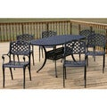Heritage 7-piece Cast Aluminum Outdoor Dining Set