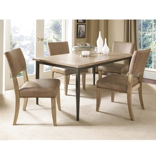 Charleston 5-piece Rectangle Dining Set with Parson Chair