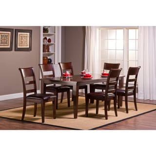Park Avenue 7-piece Dining Set with Leg Table