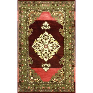 nuLOOM Hand-tufted Treasures Wool Berry Rug (5' x 8')