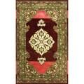nuLOOM Hand-tufted Treasures Wool Berry Rug (5' x 8')