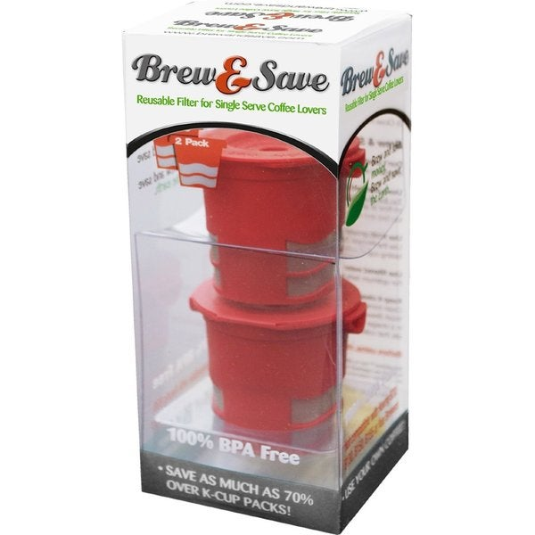Brew & Save Refillable K-Cup for Keurig Brewers