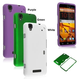 BasAcc Rubberized Plastic Cover Snap-on Hard Slim Case For ZTE MAX N9520