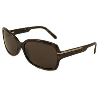 Givenchy Women's SGV716 Rectangular Sunglasses