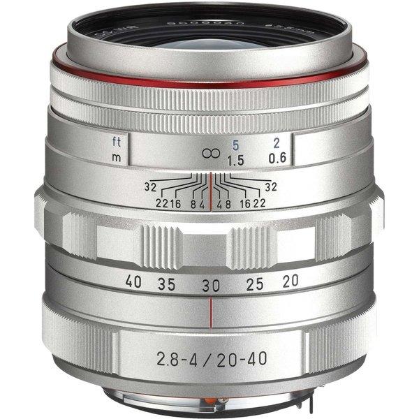 Pentax HD DA 20-40mm f/2.8-4 ED Limited DC WR Silver Lens