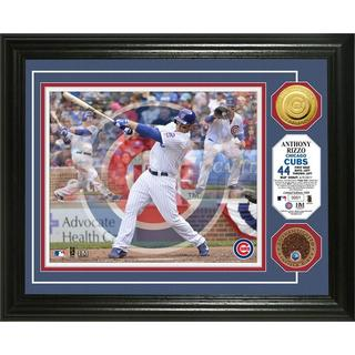 "Anthony Rizzo ""Triple Play"" Dirt Coin Photo Mint"