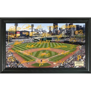 MLB Pittsburgh Pirates Signature Field Framed Photograph