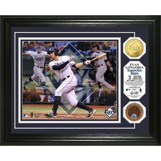"Evan Longoria ""Triple Play"" Dirt Coin Photo Mint"