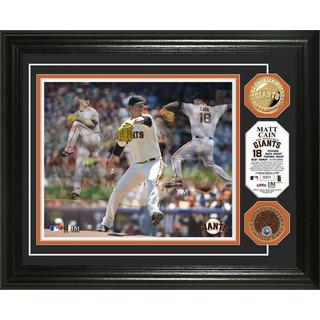 "Matt Cain ""Triple Play"" Dirt Coin Photo Mint"