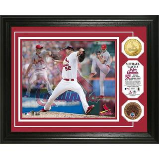 "Michael Wacha ""Triple Play"" Dirt Coin Photo Mint"