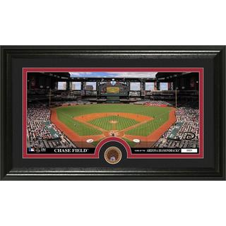 Arizona Diamondbacks Infield Dirt Coin Panoramic Photo Mint
