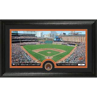 Baltimore Orioles Infield Dirt Coin Panoramic Photo Mint