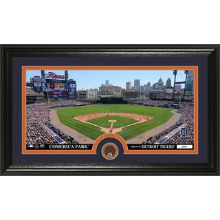 Detroit Tigers Infield Dirt Coin Panoramic Photo Mint