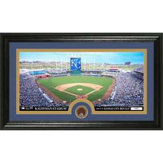 Kansas City Royals Infield Dirt Coin Panoramic Photo Mint