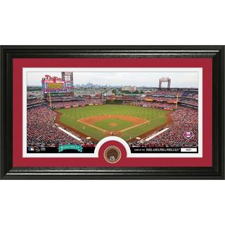 Philadelphia Phillies Infield Dirt Coin Panoramic Photo Mint
