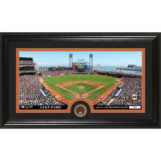 San Francisco Giants Infield Dirt Coin Panoramic Photo Mint