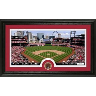St. Louis Cardinals Infield Dirt Coin Panoramic Photo Mint