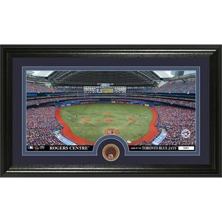 Toronto Blue Jays Infield Dirt Coin Panoramic Photo Mint
