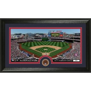 Washington Nationals Infield Dirt Coin Panoramic Photo Mint