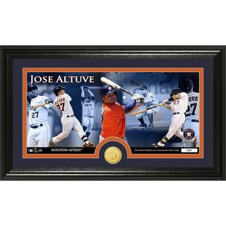 Jose Altuve Bronze Coin Panoramic Photo Mint