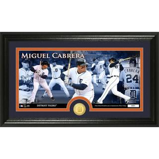 Miguel Cabrera Bronze Coin Panoramic Photo Mint