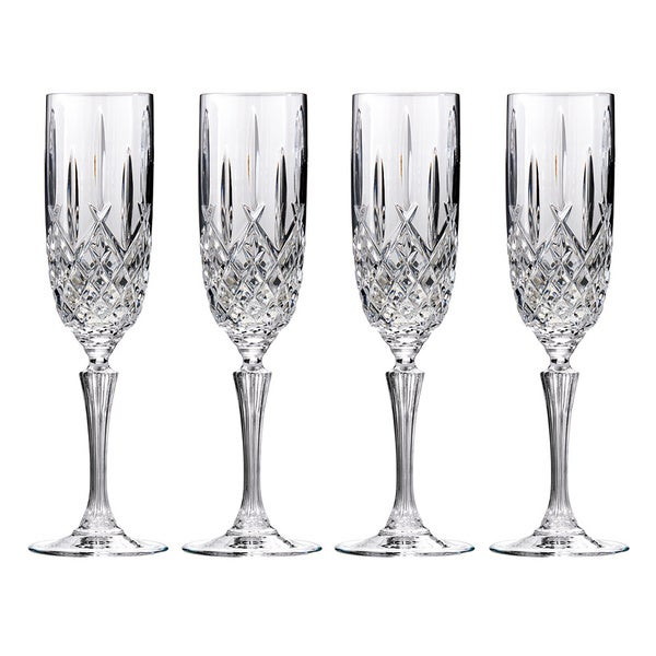 Marquis by Waterford Markham Flute Glasses (Set of 4)