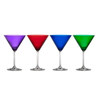 Marquis by Waterford Vintage Jewels Martini Glasses (Set of 4)
